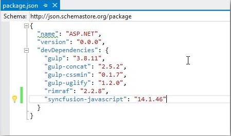 Configuration and Installation | ASP NET Core | Syncfusion