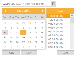Display format | DateTimePicker | ASP NET MVC | Syncfusion