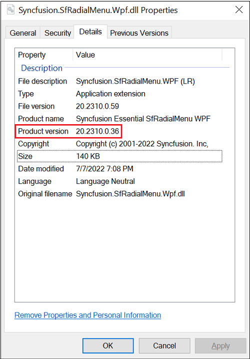 Apply the patch for major\service pack version   common   Syncfusion