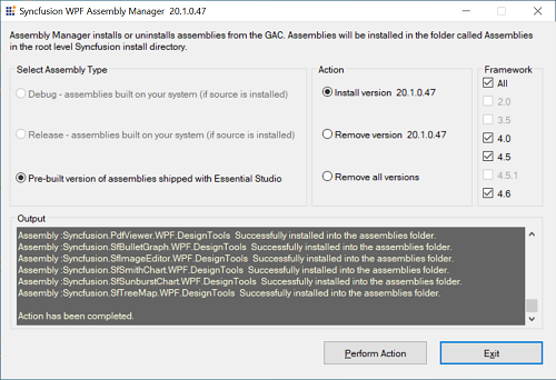 Essential Studio utilities   common   Syncfusion