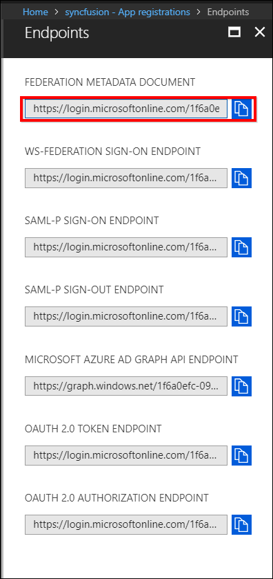 Configure Single Sign-On Authentication with Azure AD