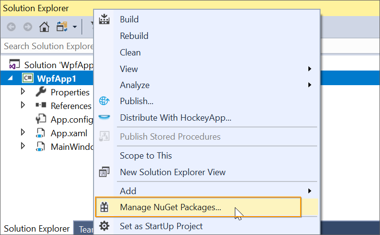 NuGet Uninstallation process | Extension | Syncfusion