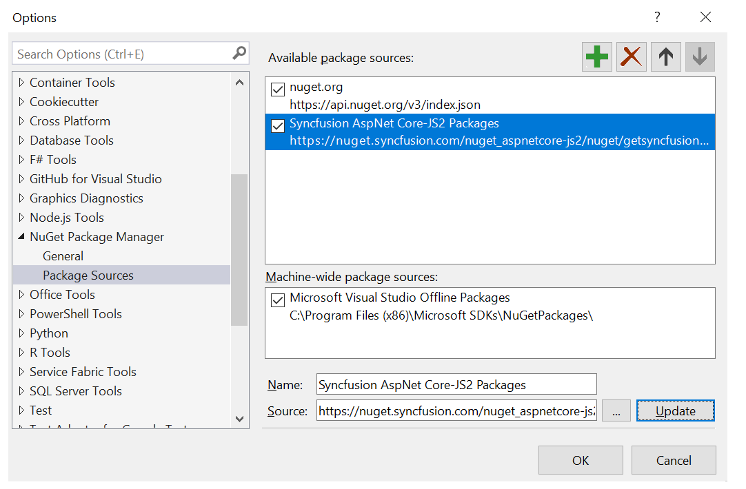 Extension NuGet Packages | Syncfusion