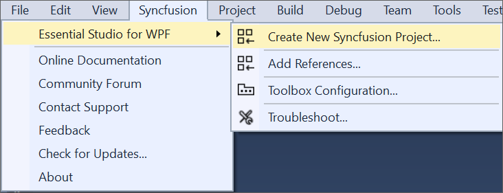 WPF Extension | Extension | Syncfusion