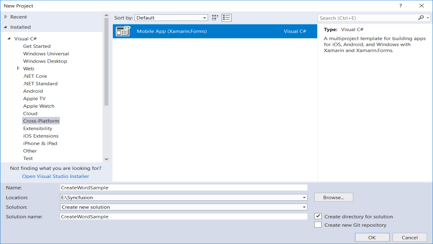 create Xamarin Application Template on forms chat ui, forms listview, forms project, forms shell project, form tabs,