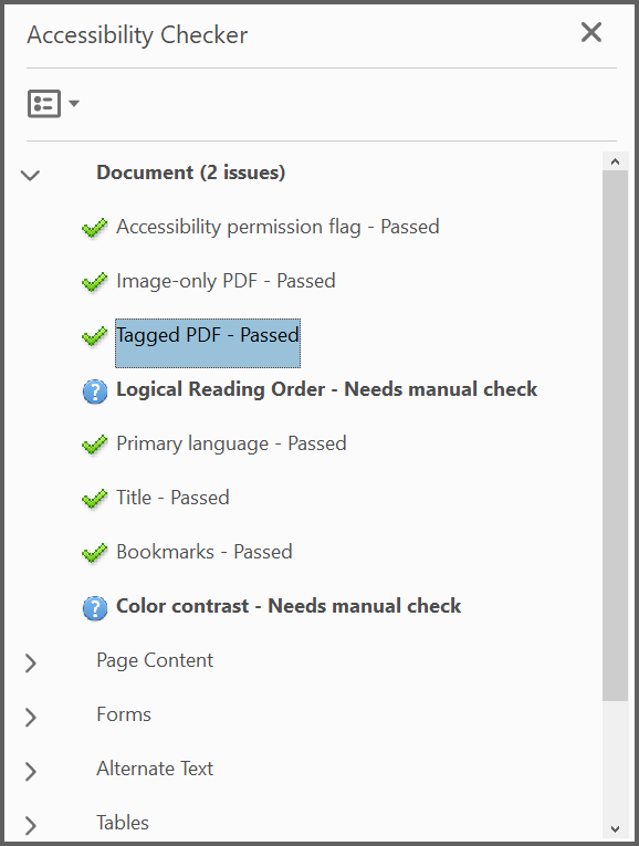 Working with Tagged PDF | Syncfusion