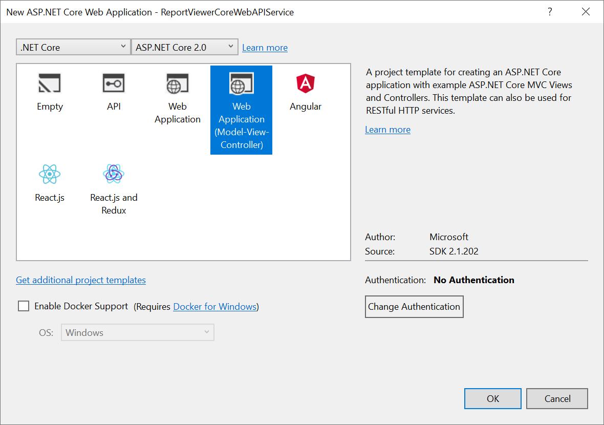 Create ASP NET Core Web API Service | Report Viewer | Syncfusion