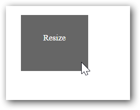 Getting started with Resizable widget for Syncfusion
