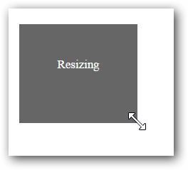 Getting started with Resizable widget for Syncfusion Essential JS