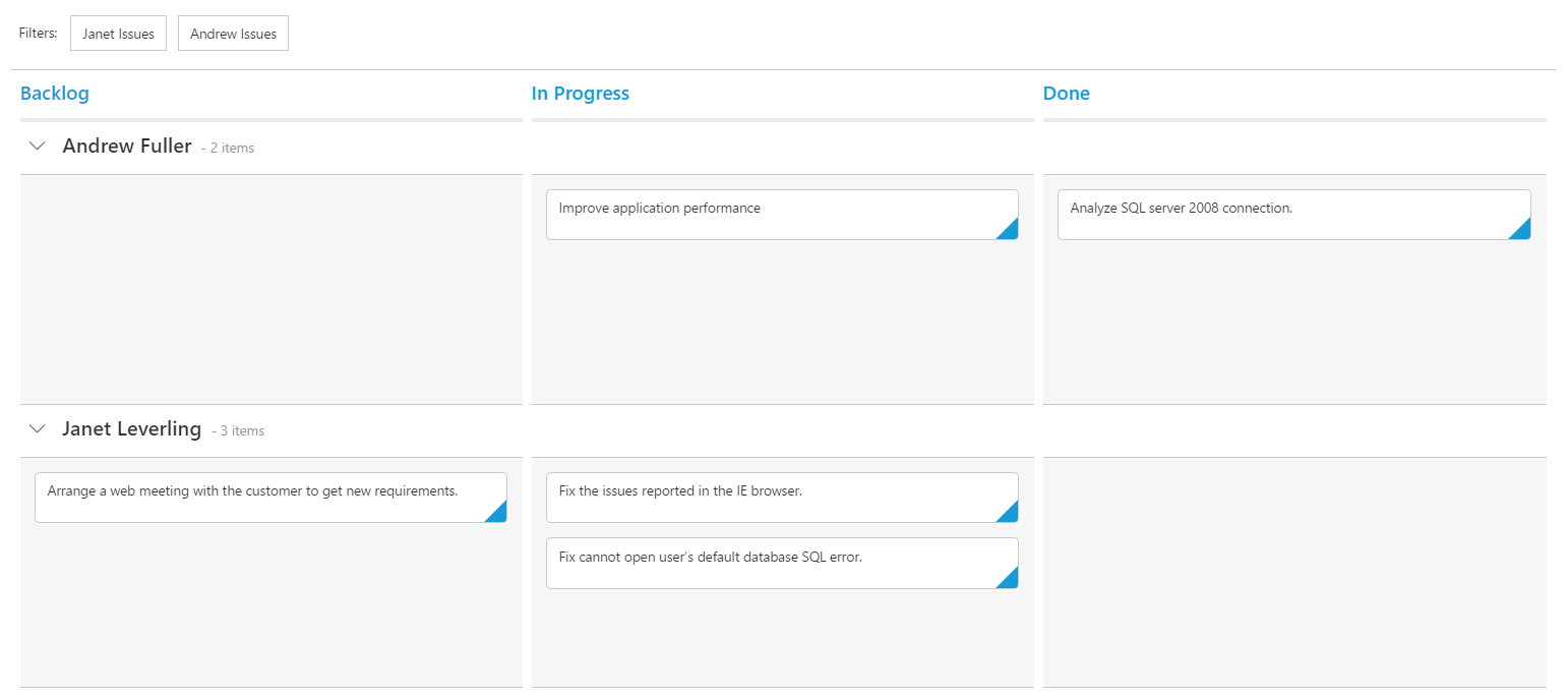 Getting Started for React JS Syncfusion Kanban