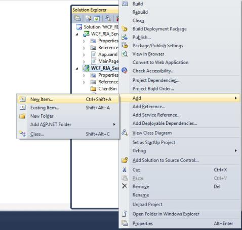 How to Load Data from WCF RIA Services to GridData | Silverlight ...