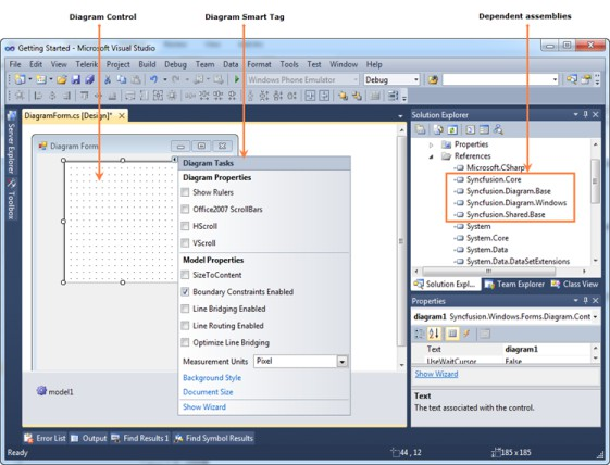 Getting Started With Windows Forms Diagram Control Syncfusion