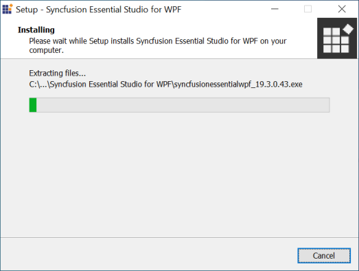 Installation and Deployment process for Syncfusion Essential